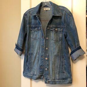 Madewell Boyfriend Denim Jacket